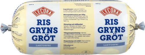 Laktosfri Risgrynsgröt